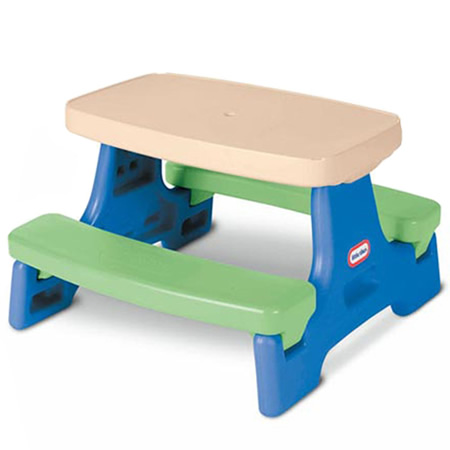 Little Tikes Small Kid's Picnic Table 1